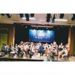 Os ensaios da Orquestra formada por alunos que participam dohellip