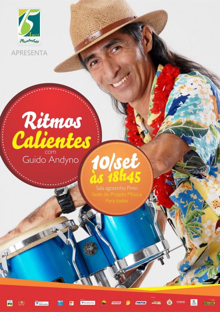 Show 'Ritmos Calientes' mostra grandes sucessos da música latina