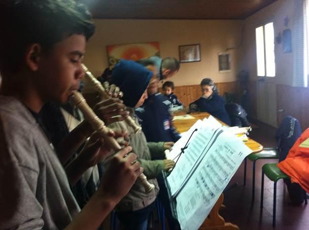 Ensaio de Flauta Doce - Quarteto Arte de Soprar9