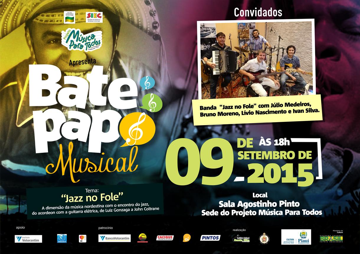 CARTAZ BATE PAPO MUSICAL SETEMBRO